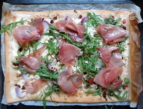 blanco pizza